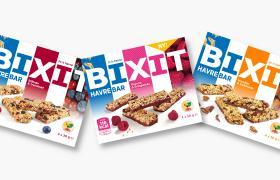 Bixit multi-pakning i tre smaksvarianter