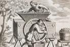 Historisk bilde av cider-produksjon